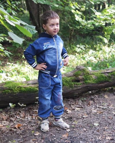 Куртка джинсовая на мальчика