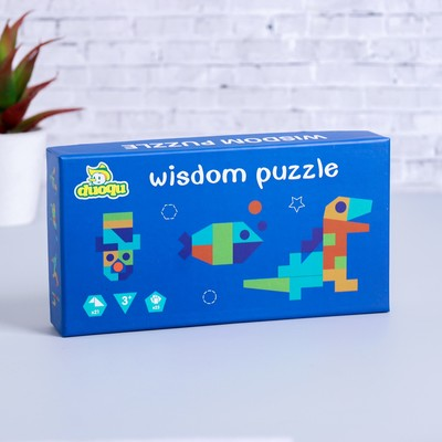 Развивающая игра «Собери фигуру» 3,5×21×11 см