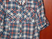 Рубашки, свитера, жилетка