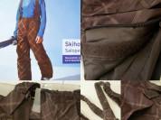 Стильные лыжные карго штаны для мальчика полукомби