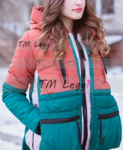 Женская удобная куртка-парка