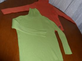 Плотные водолазки лапшой на девочку 4-6 лет