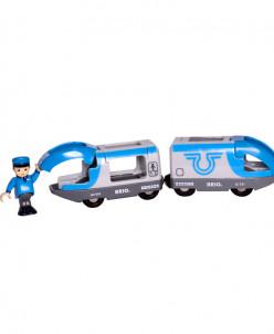 Поезд-экспресс с машинистом из 2 элементов BRIO (БРИО)