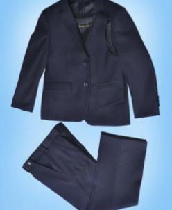152 3в1 д/м пиджак , брюки , жилет  Т-СИНИЙ