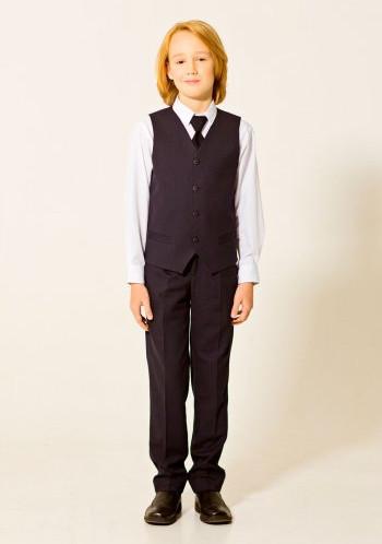 Жилет для мальчика младшая школа