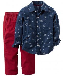Рубашка + брюки Cartes  2Т