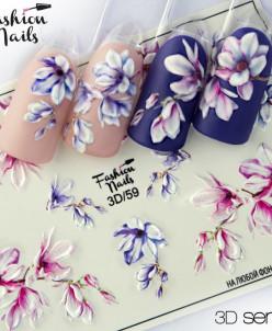 Fashion Nails, Слайдер-дизайн 3D/59