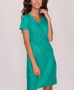 3346 Платье Зеленый