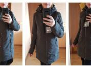 Новая куртка парка на весну осень 40 42 44 46 48
