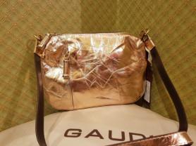 Новая бронзовая сумка из натуральной кожи Италия