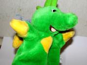 Дракон мягкая детская игрушка для детского театра