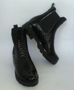 "Ботинки Челси ""рептилия""."