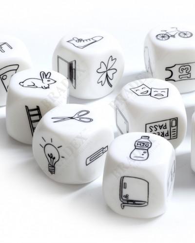 Игра настольная «КУБИКИ ИСТОРИЙ» (Cubes for making stories)