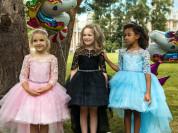 новые детские пышные платья в наличии.
