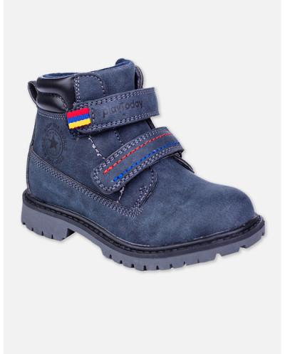 82387 Ботинки (PLAYTODAY)темно-синий
