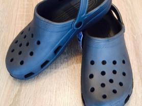 Мужские сабо Crocs цвет серый