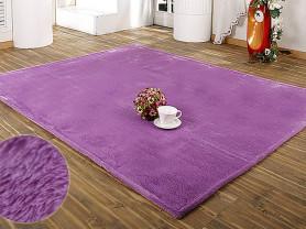 Фиолетовый ковер с ворсом Chase-m 150 x 200 см