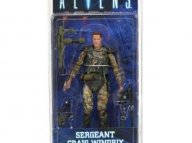 """Фигурка """"Aliens 7"""" Series 2 - Sgt. Windrix, Neca"""