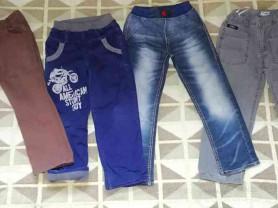 Пакет брюк, джинсы (разные сезоны) р. 110/116