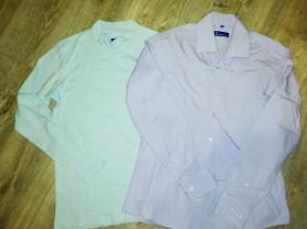 Отдам водолазку и рубашку школьную р. 158..