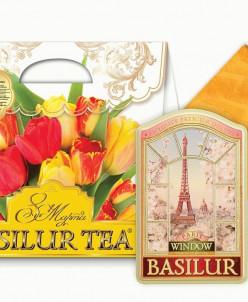 """Чайный набор BASILUR """"Красочный""""."""