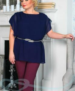 Лёгкая шифоновая блузка Gepur