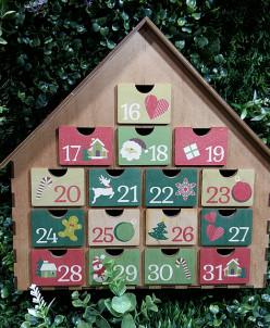 Адвент календарь с цветопечатью
