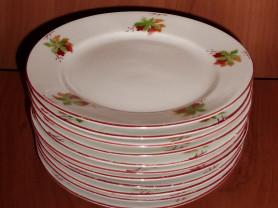 Набор тарелок Коростень диаметр 15 см - 11 штук