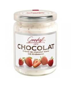 белый шоколадный крем с клубникой