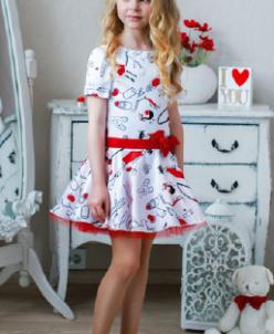 Платье Т*утси красное