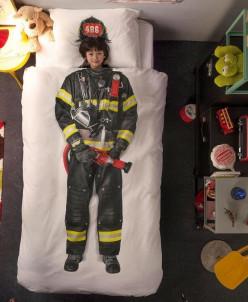 Комплект постельного белья Пожарный. ХИТ!
