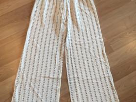 Широкие шёлковые стильные брюки Chanel (оригинал)
