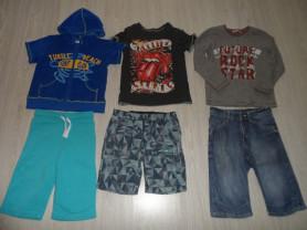 Пакет фирм. одежды на 4-7 лет и пижама Джимбори