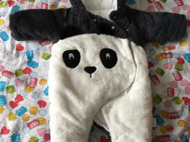новый комбинезон панда, 4-6 месяцев, 1500₽
