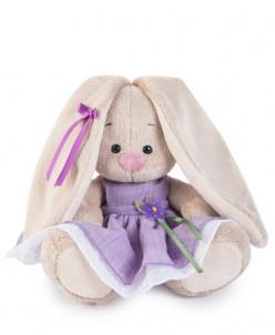 Зайка Ми в фиолетовом платье с цветочком (малыш)