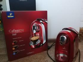 Кофемашина Cafissimo compact red