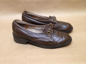 Туфли кожаные винтаж СССР Витебск примерно 80 гг