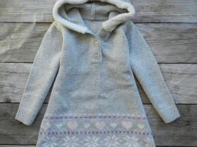 Платье теплое 92