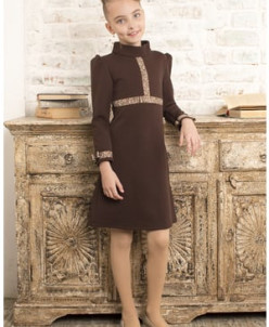 "Платье ""Brown Ribbon"""
