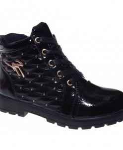 Ботинки Тотошка DY-41-1 черный (32-37)