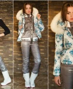 Женский лыжный костюм 3 в 1. Эксклюзив