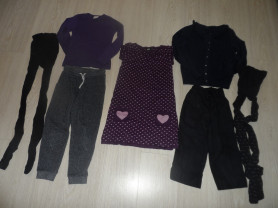Пакет фирмен. одежды девочке на 6-9 лет и подарки