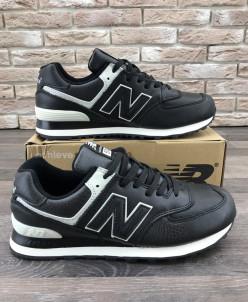 Мужские кроссовки 45-24 черные