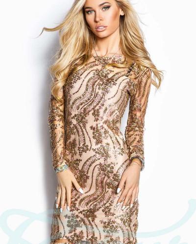 b0146b665d429a4 Коктейльное платье блестки Gepur 1623969 - Babyblog.ru