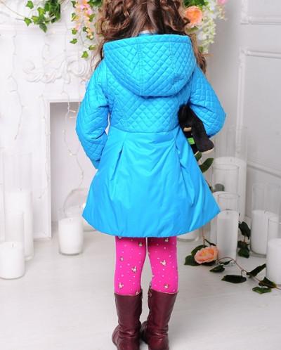 Пальто «Малышка», голубое