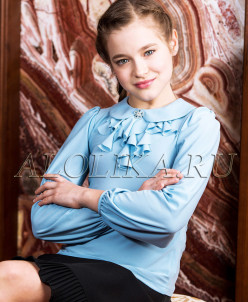 Анфиса трикотажная блузка