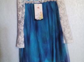 Новое Карнавальное платье Эльза холодное сердце р3