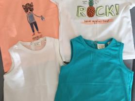 Летняя одежда для мальчика Zara, H&M