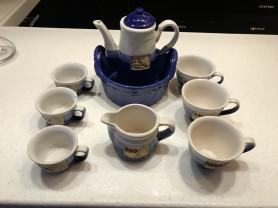 Сервиз чайно- кофейный на 3-х.