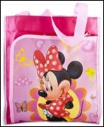 сумка Minnie mouse одно отделение+ впереди карман закрываетс